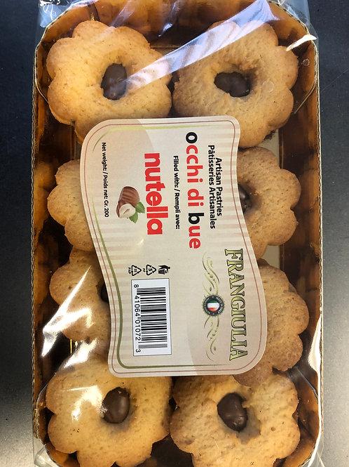 Nutella - Occhi di bue Cookies