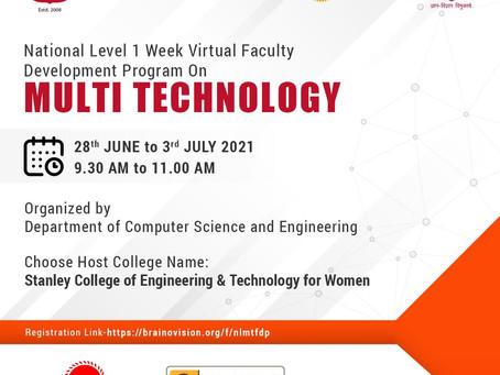 National Level Development Program on Multi Technology
