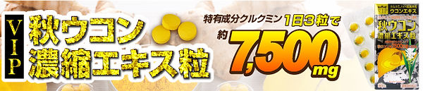 VIP秋ウコン濃縮エキス粒