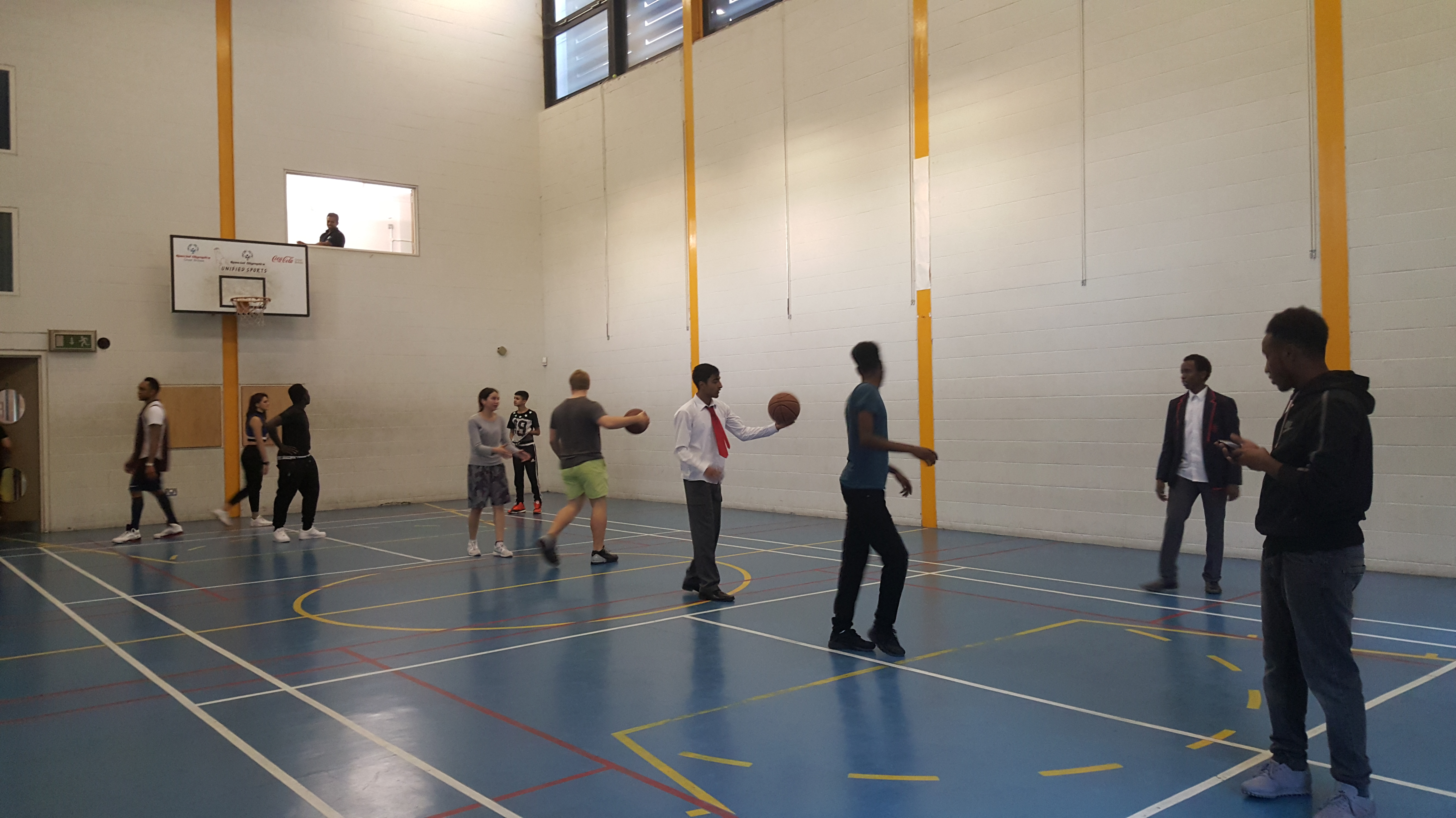 Basketball Session