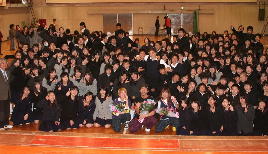 中学校ダンス指導支援   株式会社オフィスC・E・R   松ノ木中学校へ凱旋