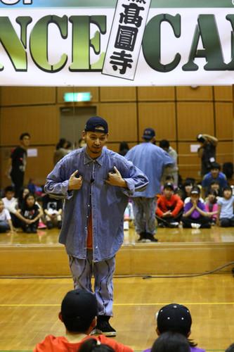 高円寺HIPHOP DANCE CAMP   株式会社オフィスC・E・R   YO-SIN