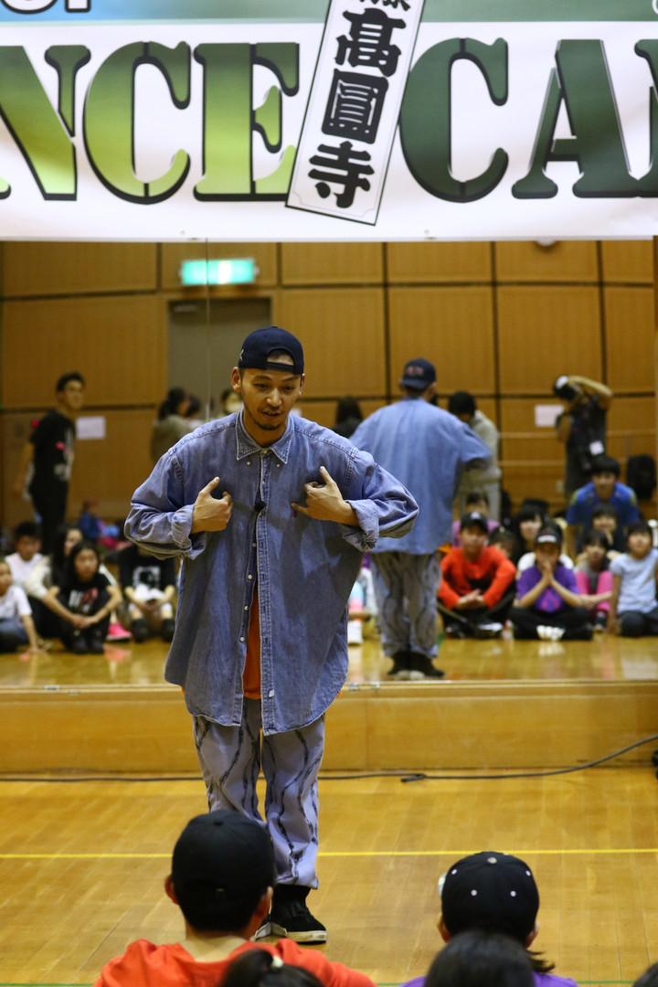 高円寺HIPHOP DANCE CAMP | 株式会社オフィスC・E・R | YO-SIN