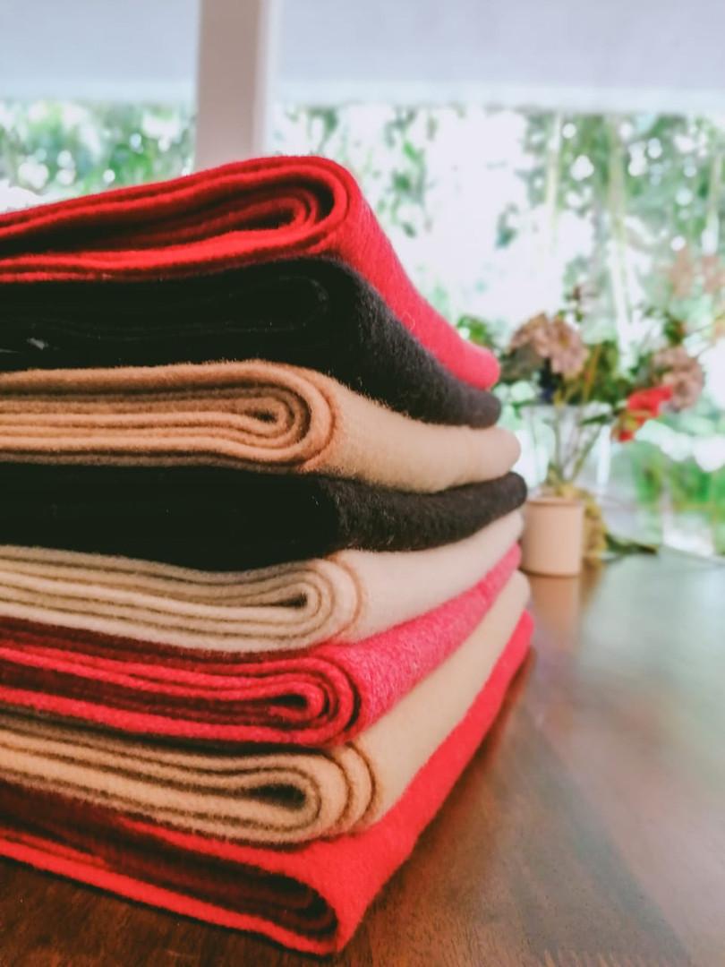100% Wool scarfs
