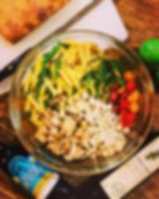 Chicken Pasta Toss