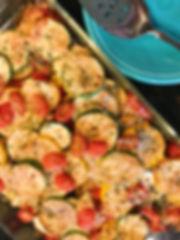Roasted Parmesan Squash