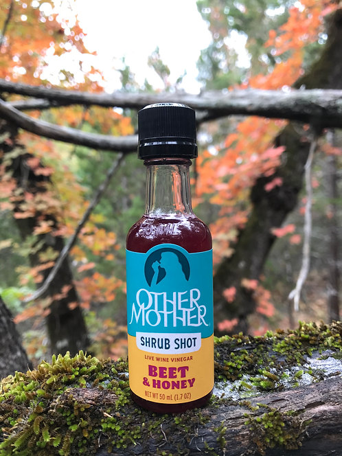 Beet & Honey Shrub Shot