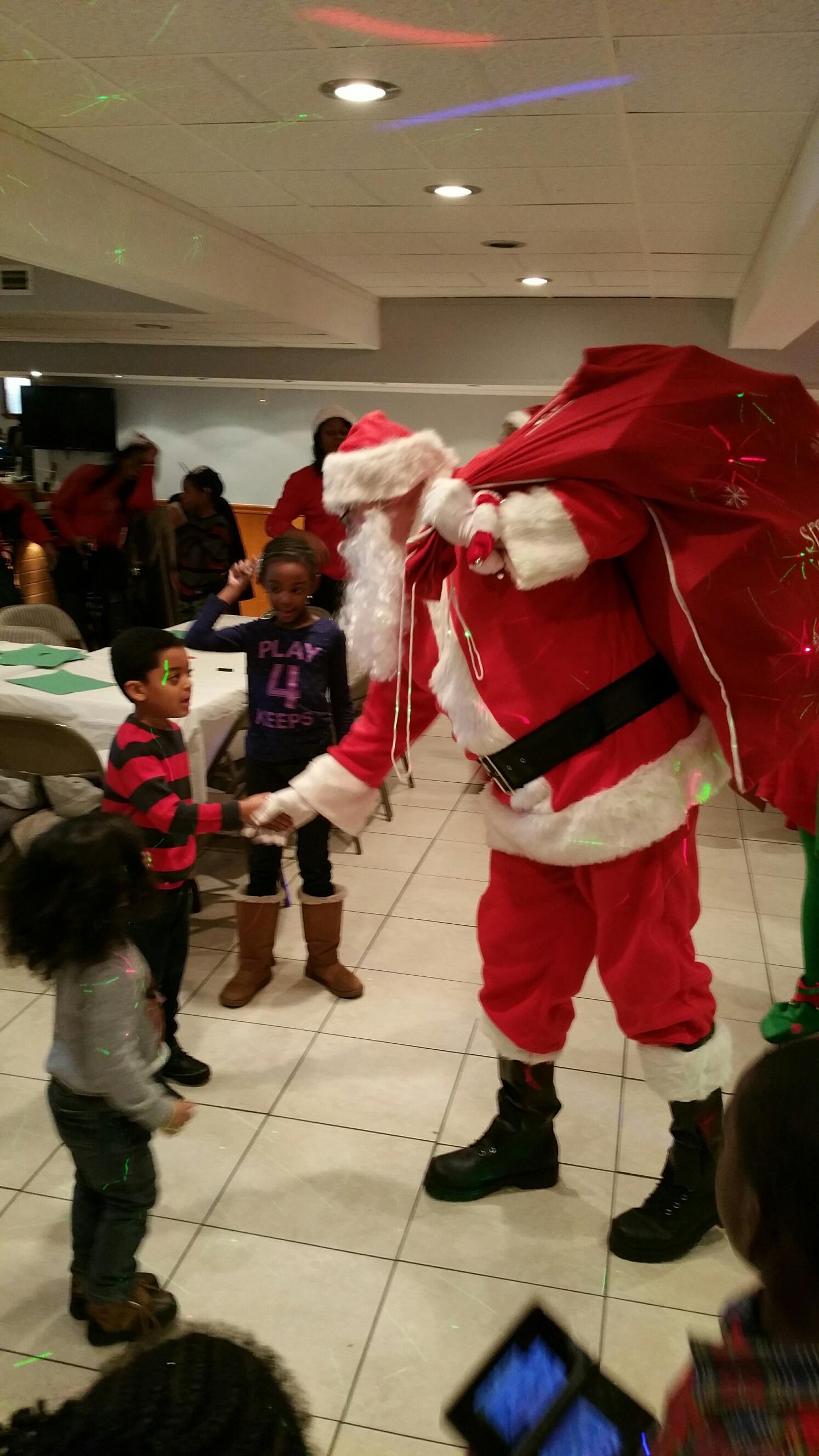 Hey, It's Santa!