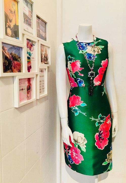 KS Blooms Della Floral Print Sheath Dress