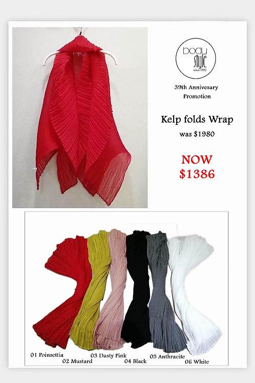 Kelp folds Wrap