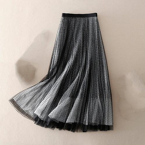 MBER-Tutu Skirt Polka Dots
