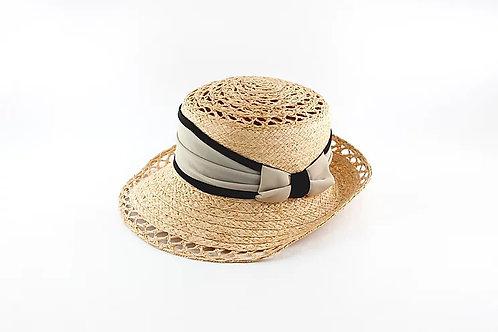 Bee's Nest Raffia Hat