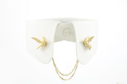 Humming Bird Clip - Gold