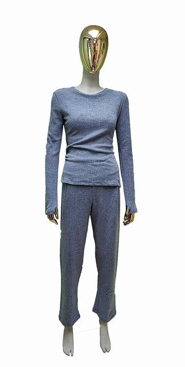 Aosta Long Sleeve & Pants PJ Set
