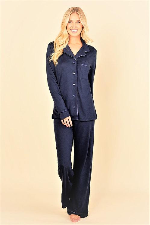 AMORE9545 Bella Relaxed Long Sleeve & Pant Pajama Set