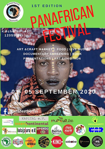 Panafrican fest poster