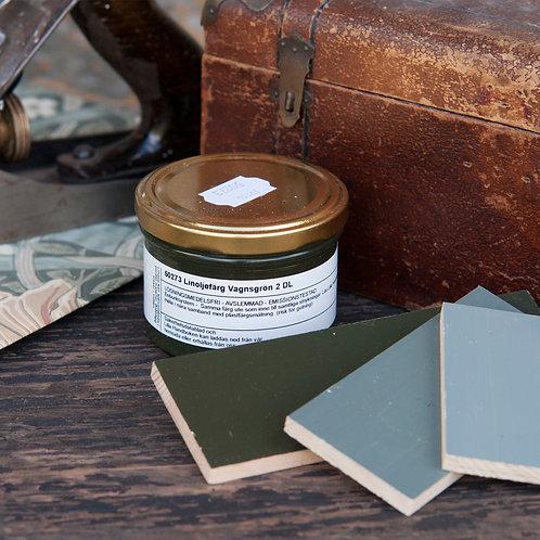 Linoljefärg Vagnsgrön