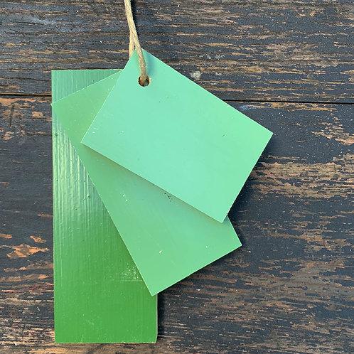 Linoljefärg Kromoxidgrön