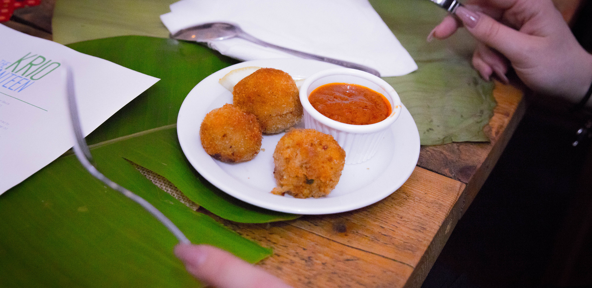 Fish Balls & Sweet Pepper Sauce