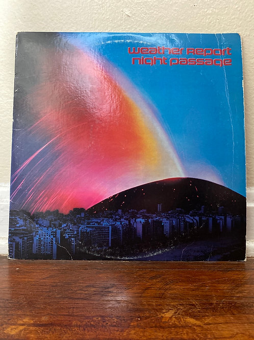 Weather Report- Night Passage