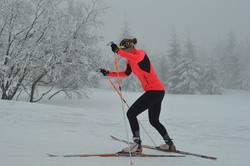 Trénink XC-skiing
