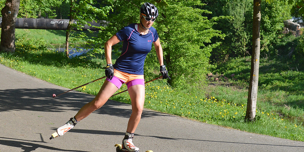 Workshop techniky jízdy na kolečkových lyžích Trója