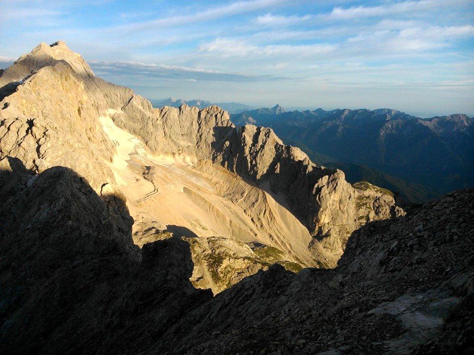 Zugspitze, můj oblíbený kopec