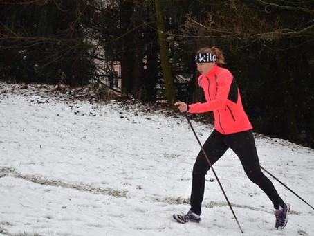 Speciální napodobivá cvičení pro běh na lyžích