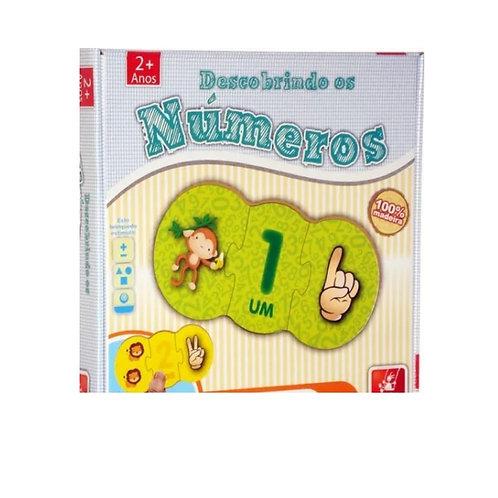 Jogo de Encaixe Descobrindo os Números (Jogo Educativo)