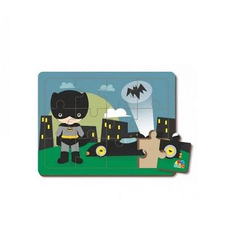 Quebra-cabeça De Encaixe Menino Morcego - Abc Brinquedos