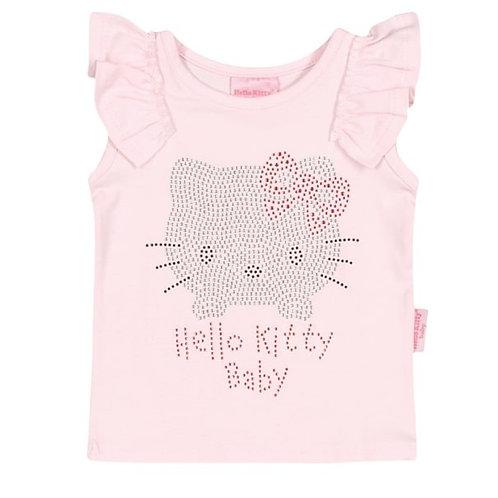 Camiseta Regata Bebê - Rosa - Hello Kitty