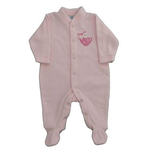 Macacão Soft Bebê - Piu Piu - Rosa