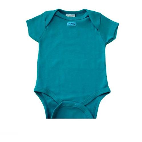 Body Manga Curta  - Verde - Up Baby