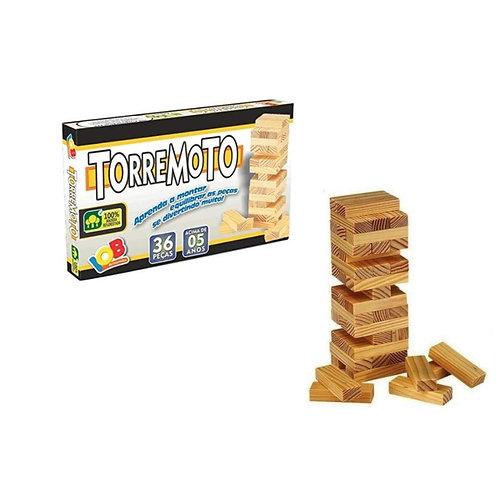Jogo de Equilíbrio Torremoto - Brinquedo Educativo - IOB Brinquedos