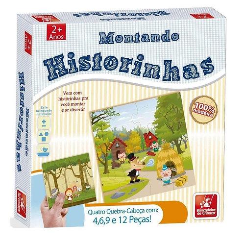 Montando Historinhas (Jogo Educativo)-Brincadeira de Criança