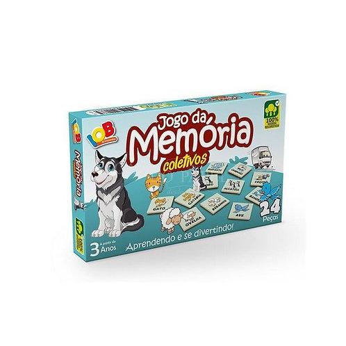 Jogo da Memória Coletivos - Brinquedo Educativos - Iob Brinq