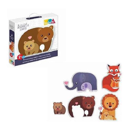 Quebra-cabeças Animais E Filhotes  - Babebi
