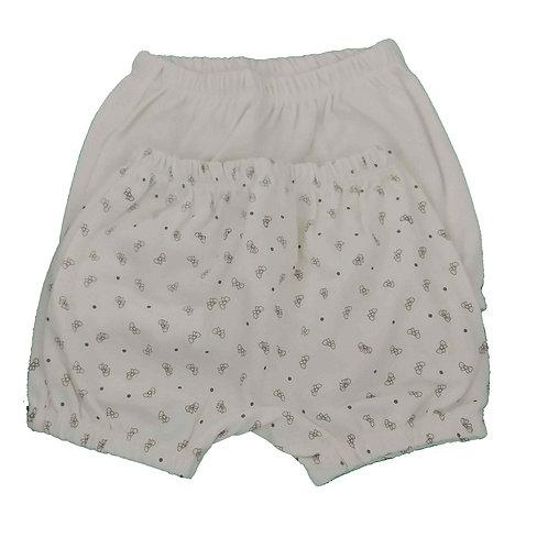 Kit 2 Shorts Bebê - Marfim - Baby Fashion