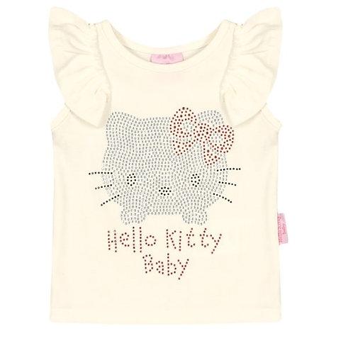 Camiseta Regata Bebê - Natural - Hello Kitty