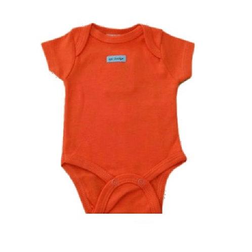 Body Manga Curta  -  Coral - Up Baby