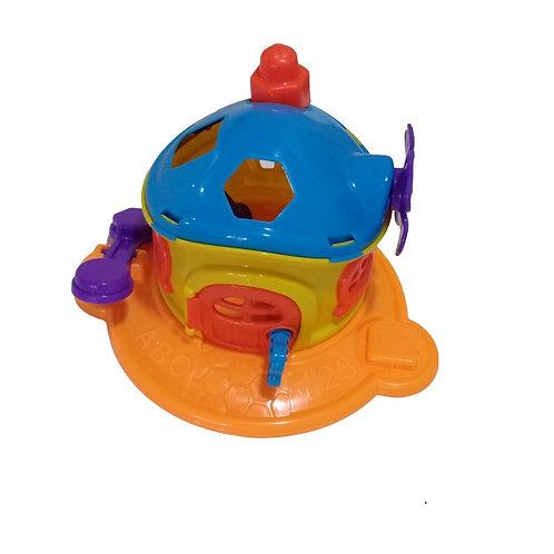 Brinquedo Didático Cogumelo Encantado - JP Brink