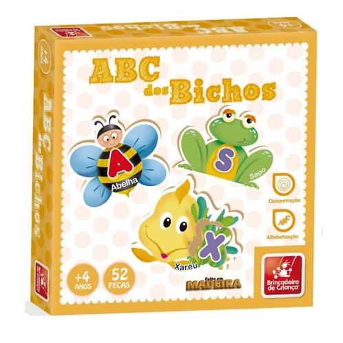 Brinquedos Pedagógico ABC dos Bichos