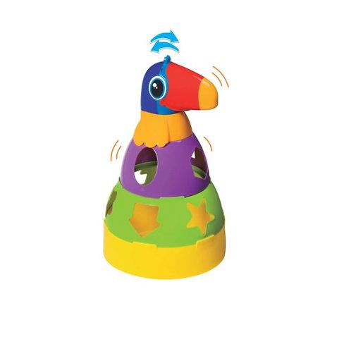 Brinquedo Educativo Tucano Didático com Blocos - MercoToys