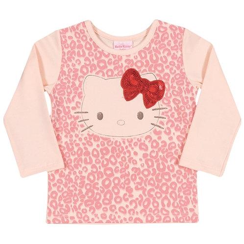 Blusa Bebê  - Rosa Bebê - Hello Kitty