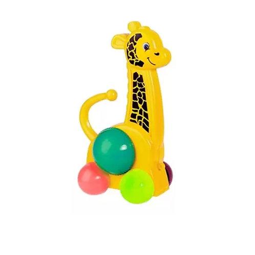 Brinquedo Educativo Amiguinhos da Floresta -Girafa-MercoToys