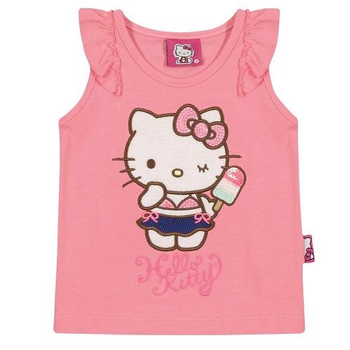 Regata Bebê - Rosa - Hello Kitty