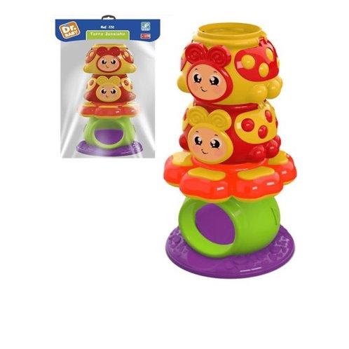 Brinquedo Didático Torre Joaninha - JP Brink