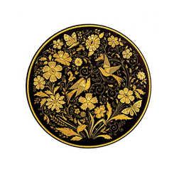 21197 renaissance decoration plate