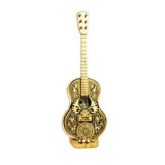 41662 réplica de guitarra española con soporte dorado