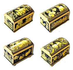 Disney special collections princess gold damascene jewelry box